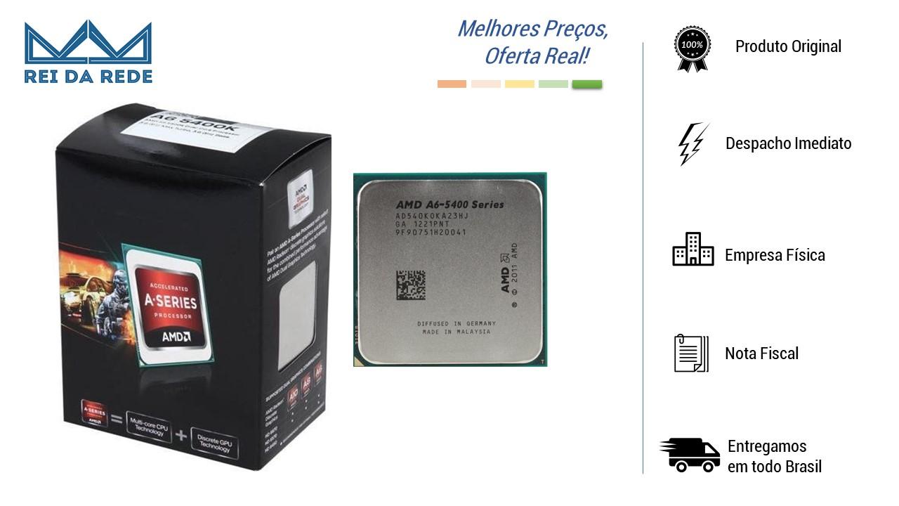 PROCESSADOR AMD FM2 A6 5400K 3.6GHZ - OEM