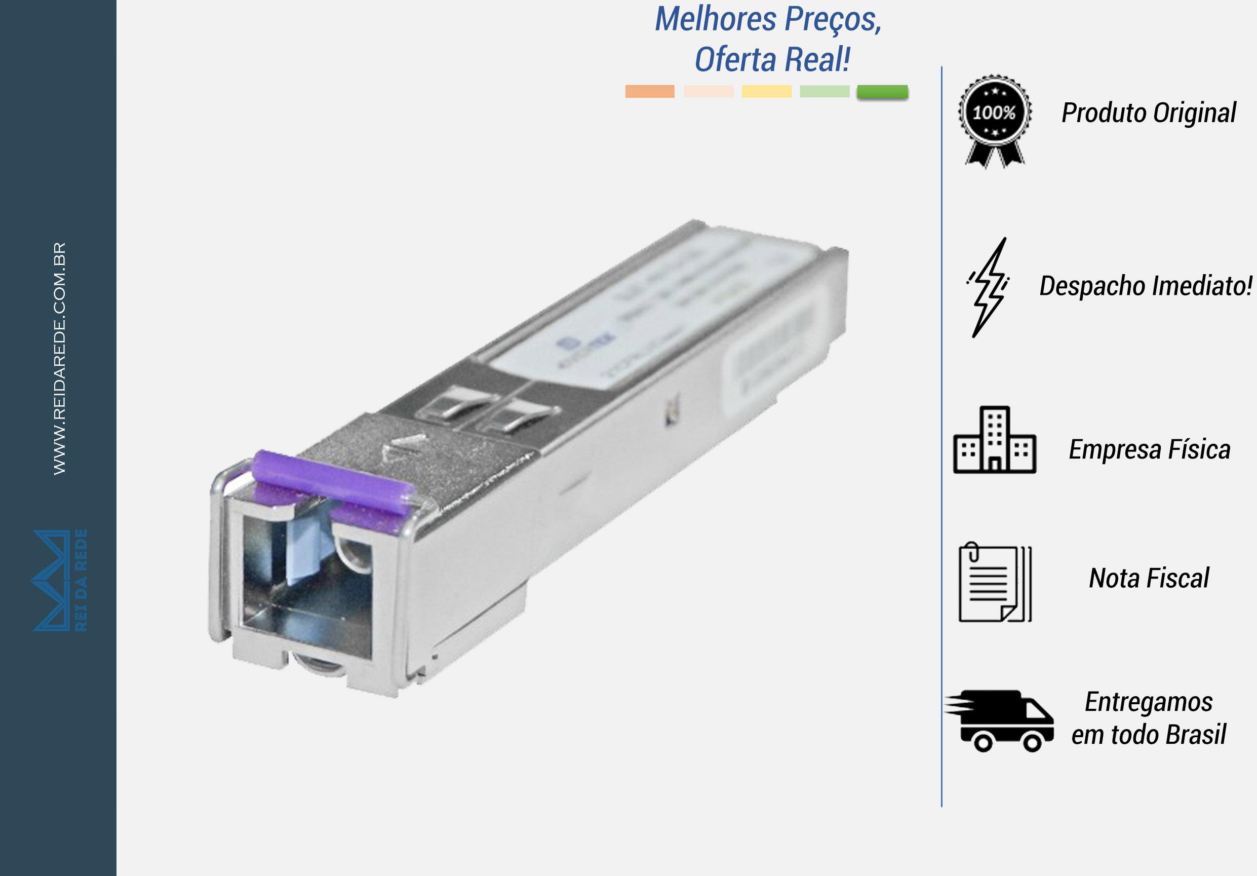 MINI-GBIC SFP EPON 20 KM CONECTOR SC/UPC OT-8604-SF - OVERTEK
