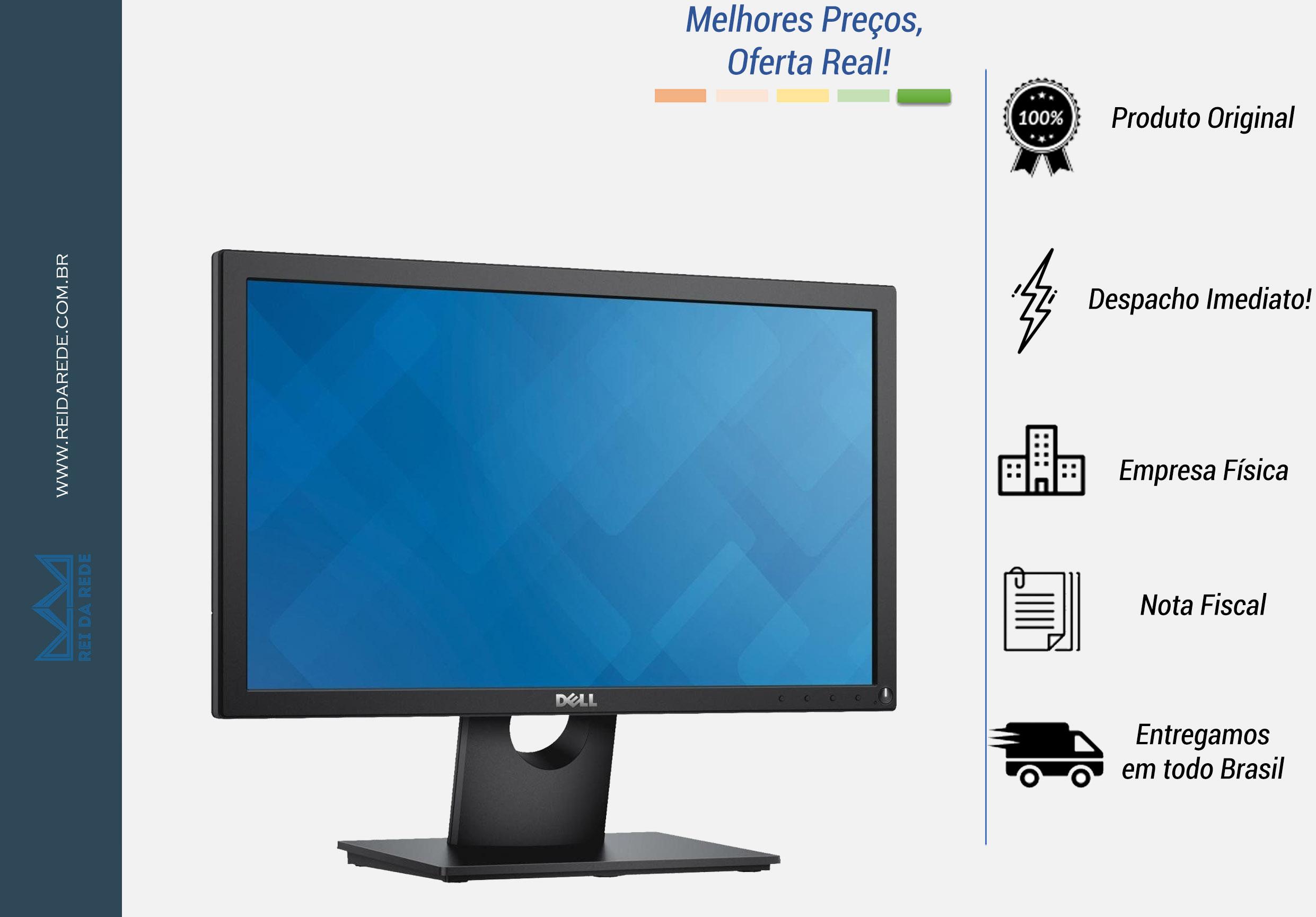 """Monitor LCD Widescreen DELL 18.5"""" E1916H"""