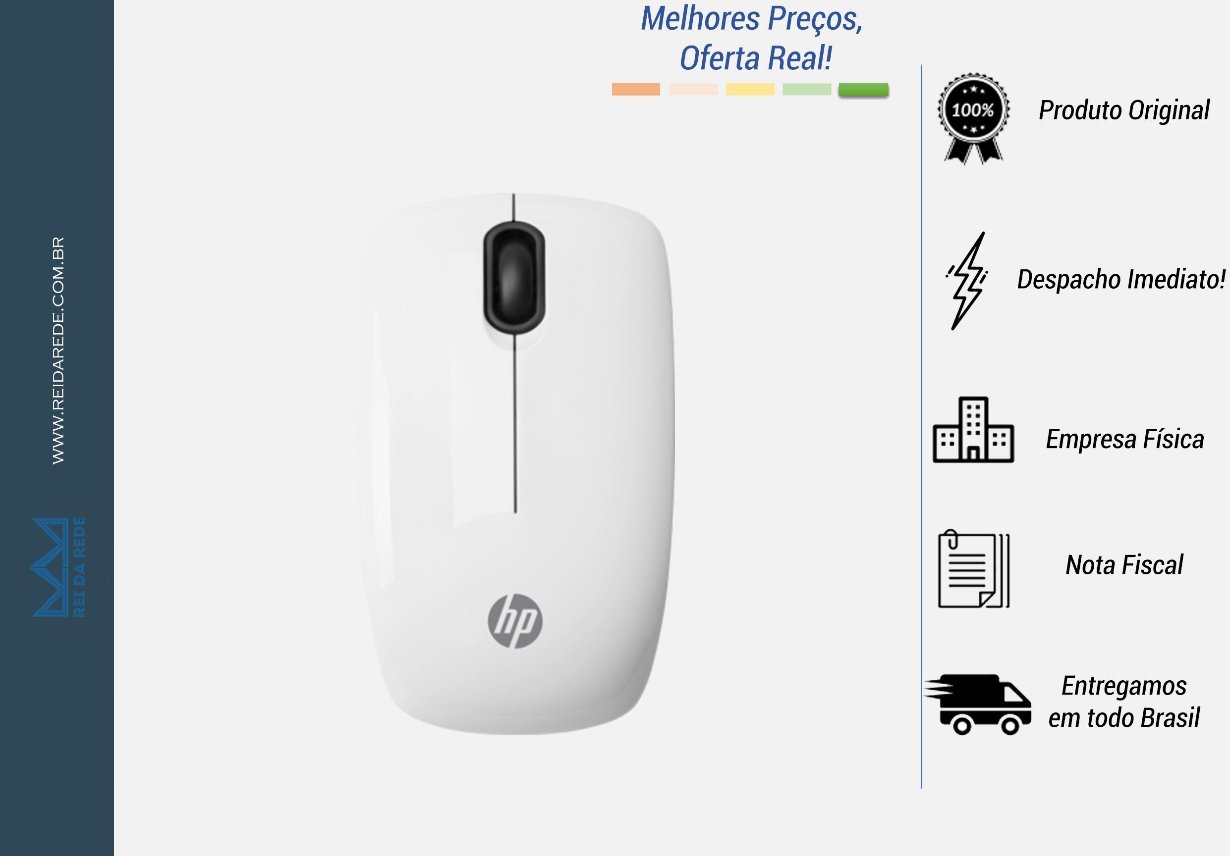 MOUSE SEM FIO HP Z3200 BRANCO