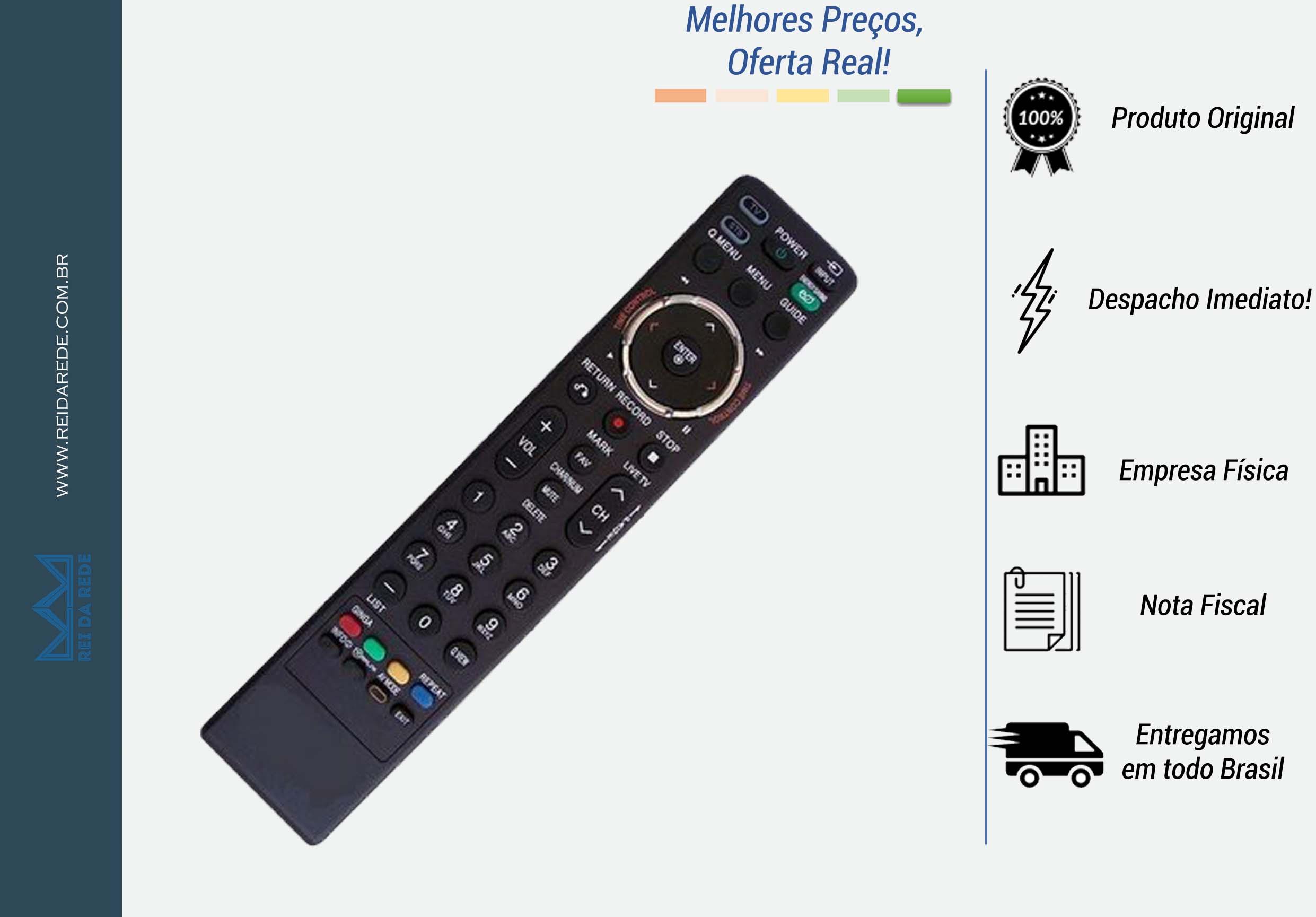 CONTROLE REMOTO TV LCD LG MKJ-42613813
