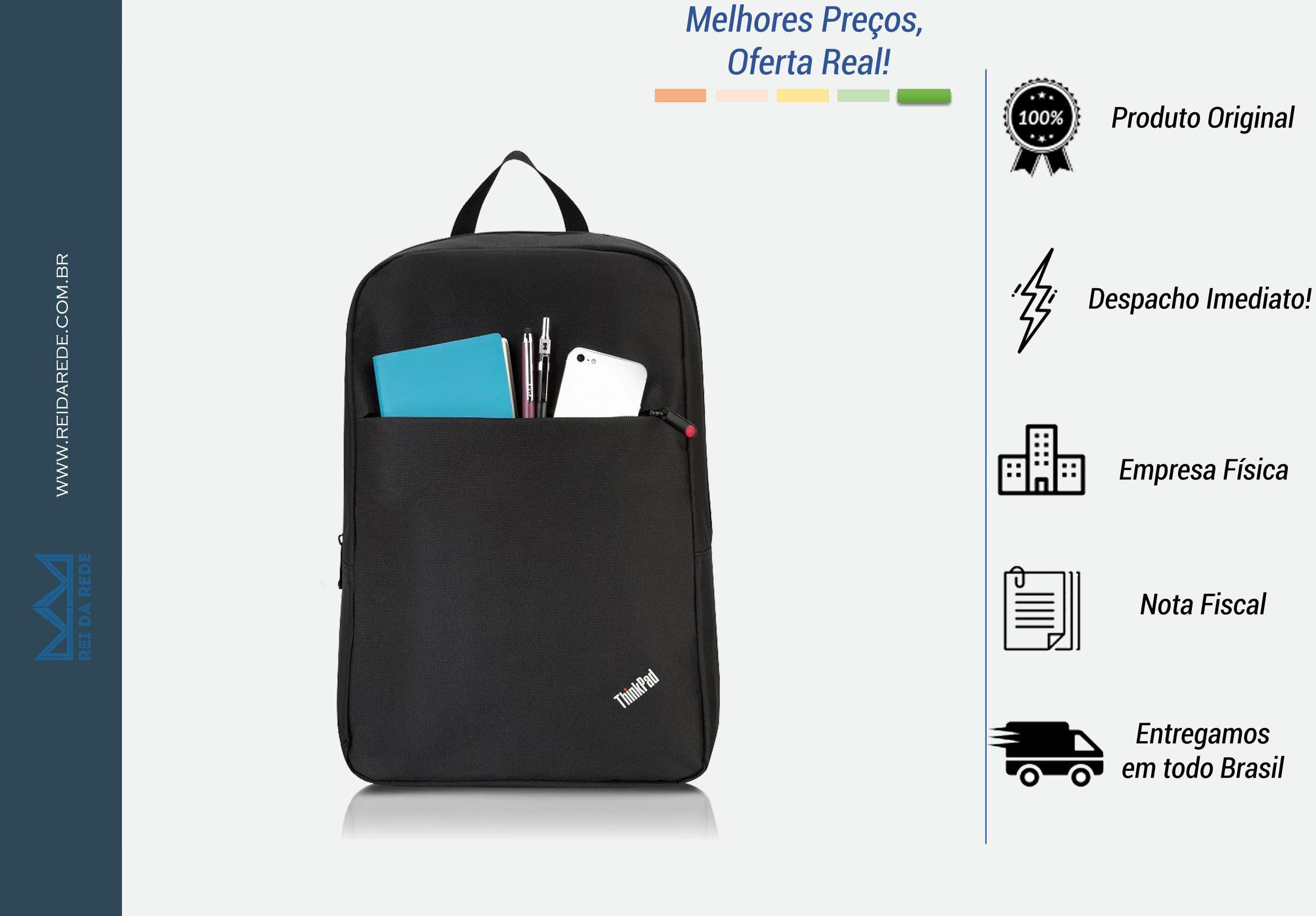 "Mochila Lenovo ThinkPad Basic para Notebooks até 15.6"""