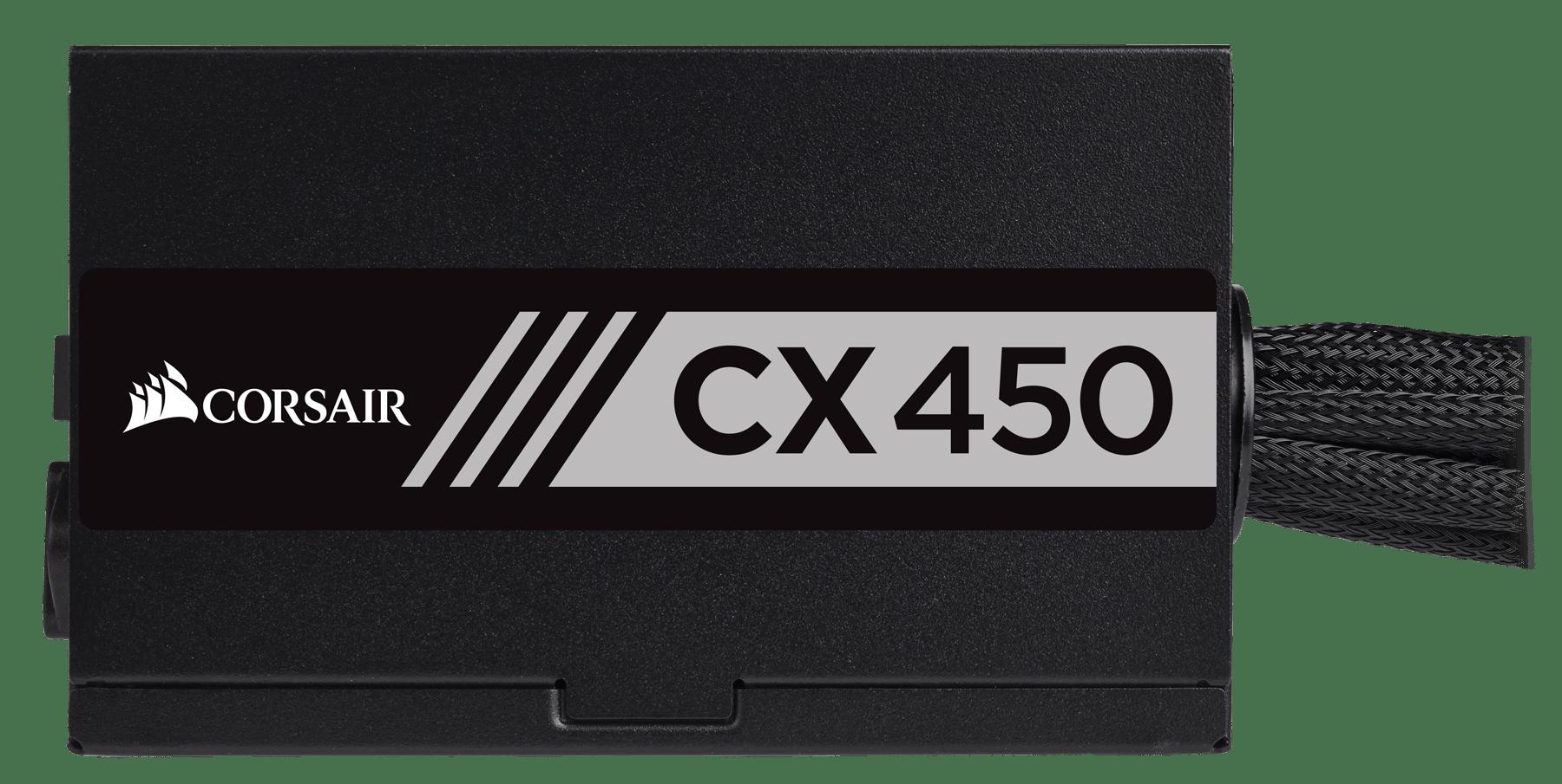 FONTE CORSAIR 450W CX 80PLUS BRONZE ATX12V V2.4 PFC S/CABO PN CP-9020120-WW