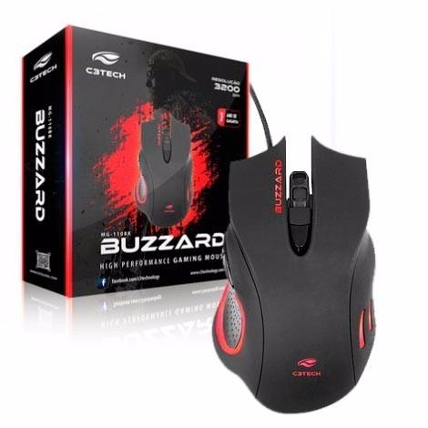Mouse Gamer MG-110BK C3Tech