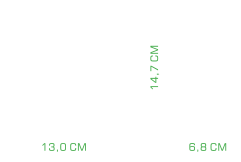 POTÊNCIA, CONEXÃO E DIMENSÕES Potente, são 20W RMS trabalhando ao seu favor, para que você não perca nenhum ruído. Além disso, a caixa de som conta com saída P2, conector USB banhado a ouro e cabo de nylon conexão plug and play sem ruído para aumentar a sua performance!