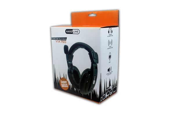 Headphone Hardline Via 750