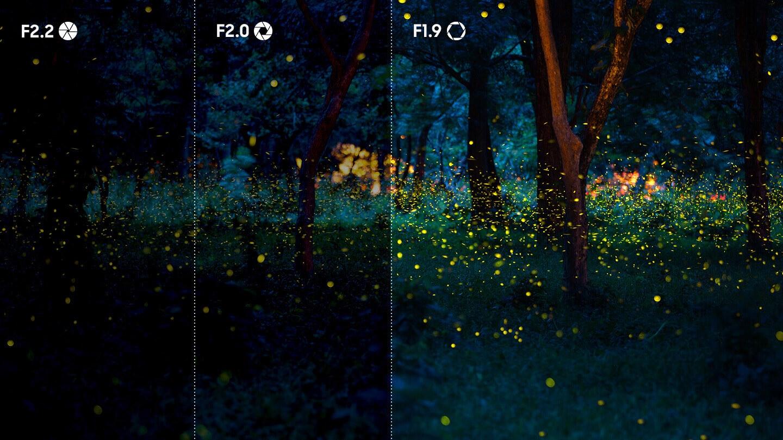 Um obturador que move para onde for necessário Graças à sua câmera traseira dupla de alta resolução de 13 MP (F1.9) e 5 MP (F2.2) e à câmera frontal de 8 MP, o Galaxy J6+ inspira mais confiança ao tirar fotos. O botão móvel do obturador simplifica a fotografia permitindo que você capture a foto a partir de qualquer lugar na tela.