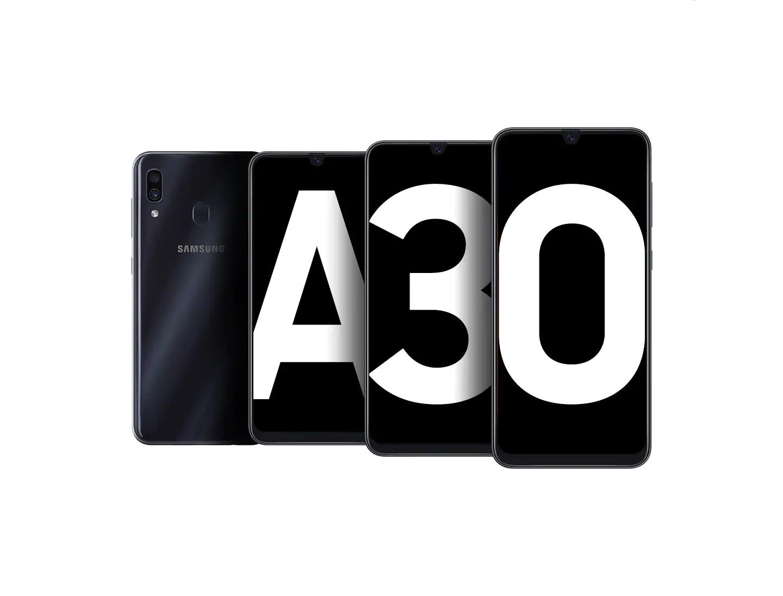 SMARTPHONE SAMSUNG GALAXY A30 A305G 64GB SM-A305GZKBZTO - PRETO - MARCA: SAMSUNG - MODELO: GALAXY A30 A305G 64GB