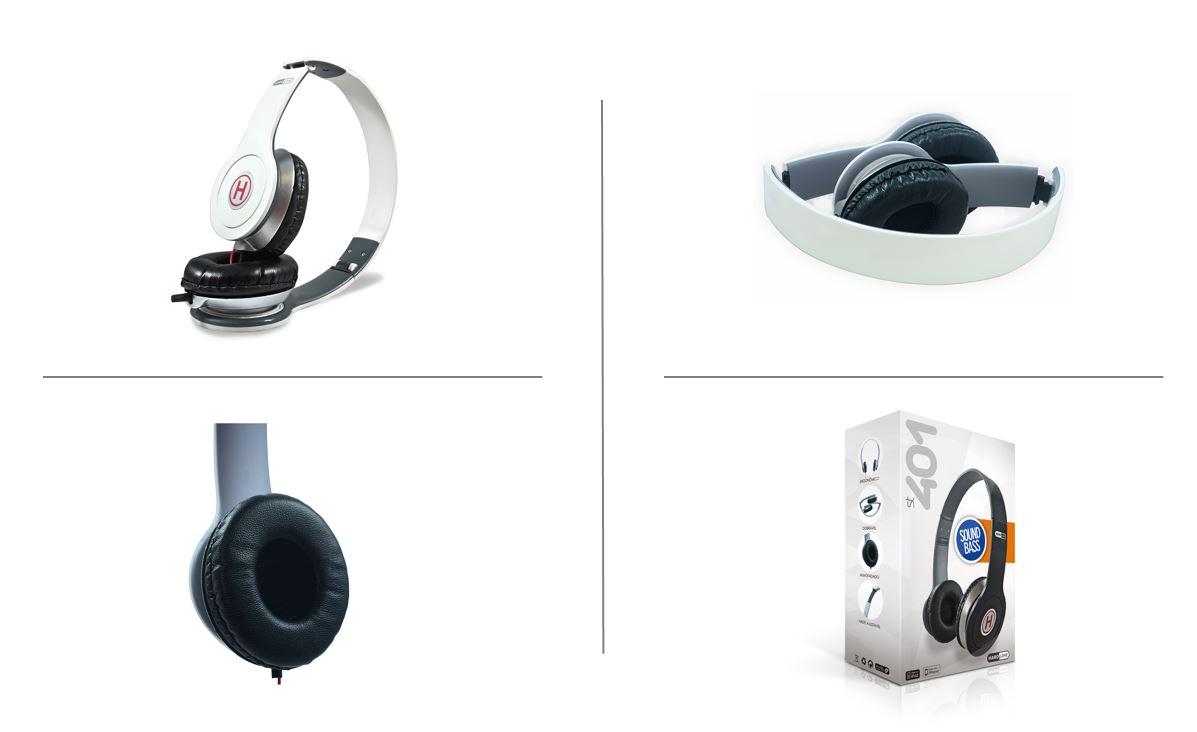 Headphone Hardline Dobravel
