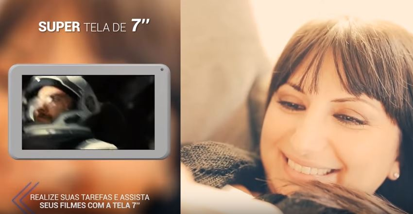 Tablet M7s - Tela de 7 polegadas