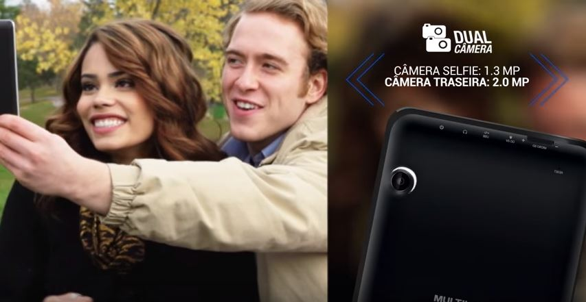 Tablet M7s dual camera