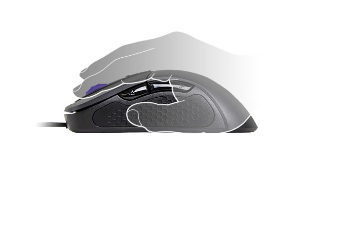 MOUSE GAMER MASTERMOUSE MM530 RGB 12.000DPI