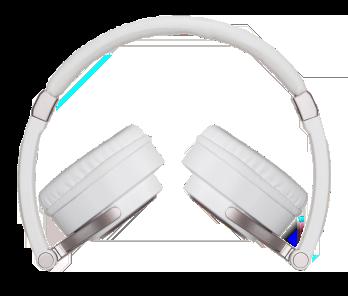 Suas músicas em alta definição Se envolva pela qualidade de som HD do Motorola Pulse 2. Os alto-falantes de 36mm de neodímio proporcionam um áudio impressionante