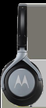Plugue sempre que quiser Com o cabo auxiliar destacável de 1.2 metros, você aproveita seu fone de ouvido plugado com a mesma qualidade de áudio