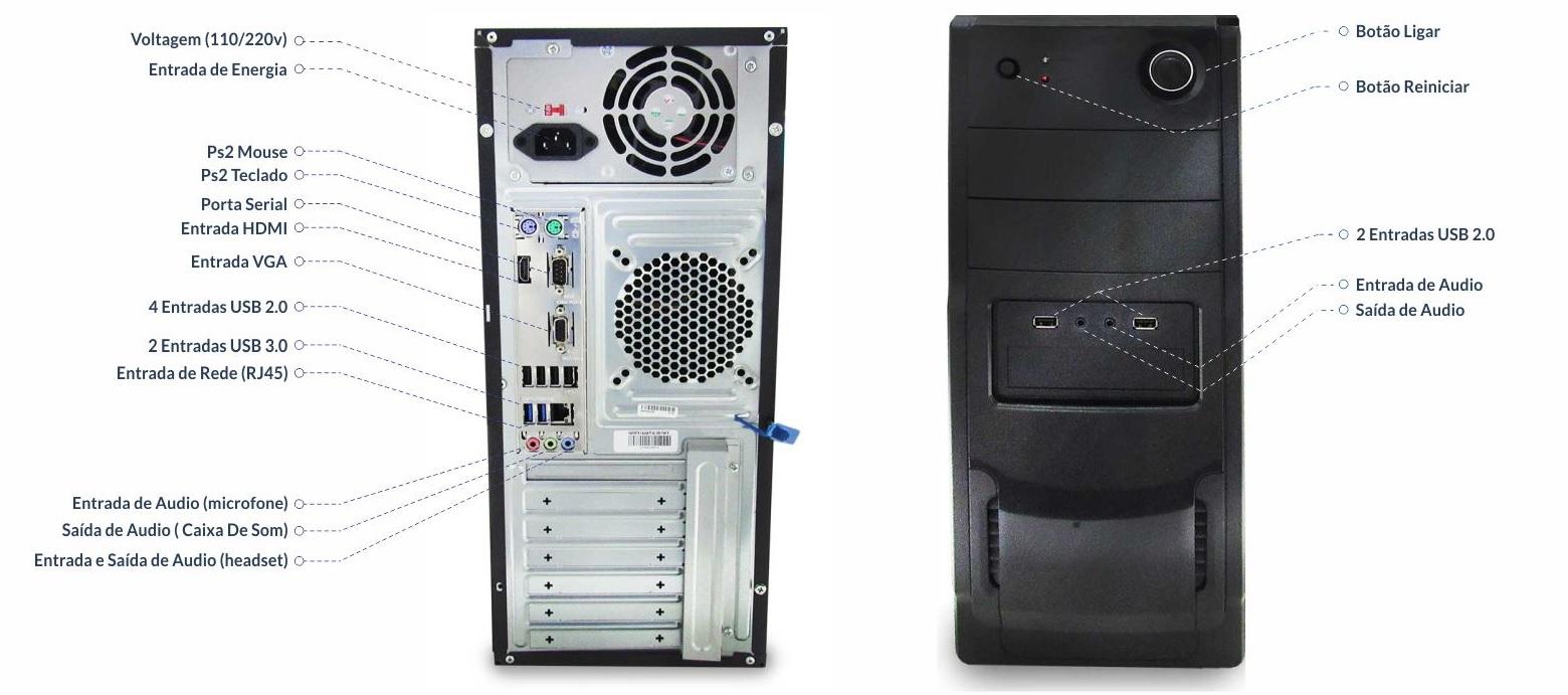 Computador Rei da Rede RR23