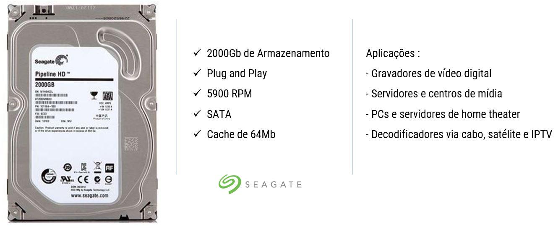 Seagate 2TB - HD