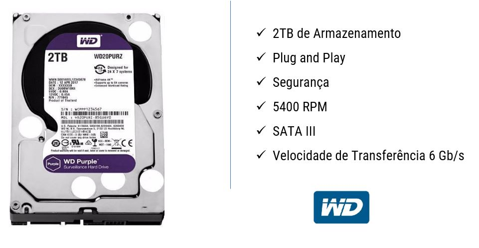 HD WD Purple 2TB