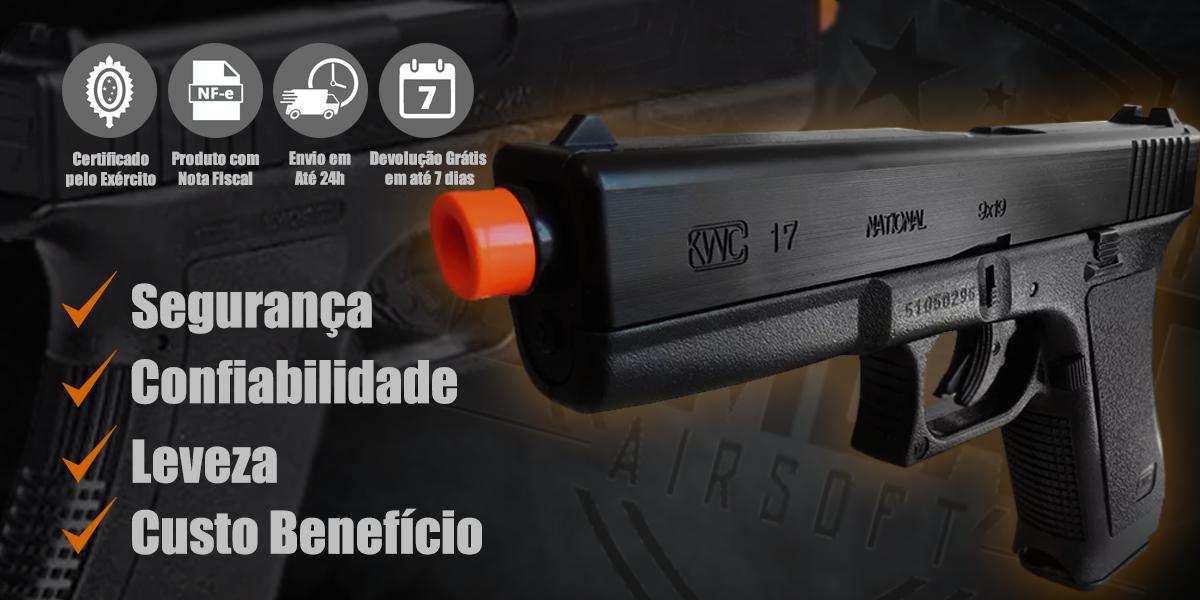 Pistola de Airsoft Spring Glock G7 KWC
