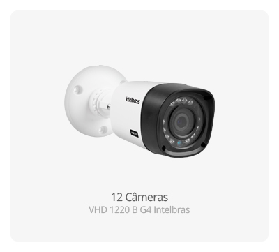 Câmera Intelbras VHD 1220 B G4 Full HD