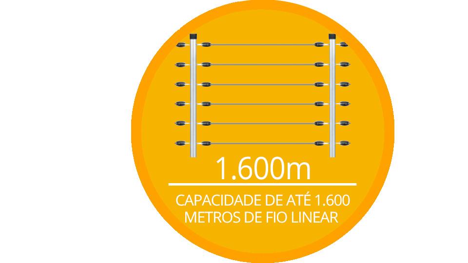 ECR 18 JFL com capacidade de até 1.600 metros