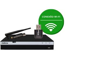 Conexão Wi-Fi com o DVR Intelbras Full HD 4 canais MHDX 3104 Multi HD 4MP