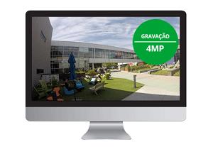 Resolução Full HD em todos os canais com o DVR Intelbras MHDX 3104 4 Canais