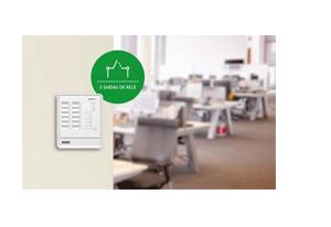 2 saídas auxiliares relé com a Central de Alarme de Incêndio Intelbras Convencional CIC 12L