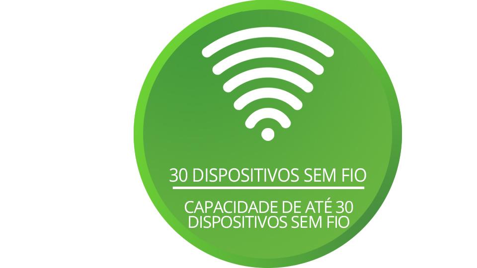 ELC 5002 com capacidade de até 30 dispositivos sem fio