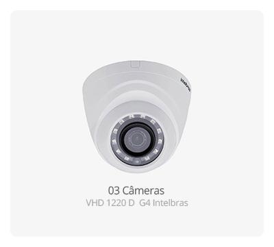 Câmera Intelbras VHD 1220 D G4 Full HD