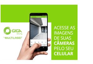Flash Mobile - Acesso em Nuvem Ultrarrápido da DVR Giga Security Orion Full HD 8 canais GS0181 Multi HD 1080p