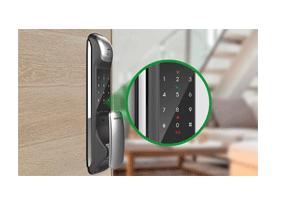 Alerta indicativo com o Fechadura Digital Intelbras Push & Pull FR 620
