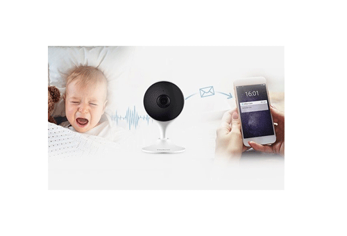 Alertas de ruídos com a Câmera Intelbras WiFi Full HD iM3 1080P, IR 10m, 2.8mm