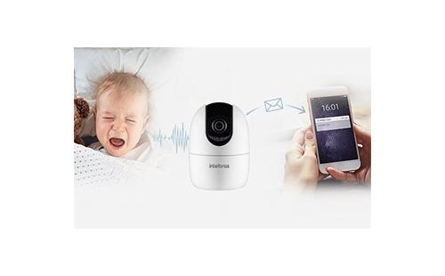 Alertas de ruídos com a Câmera Inteligente Intelbras WiFi Full HD iM4 1080p 360º IR 10m