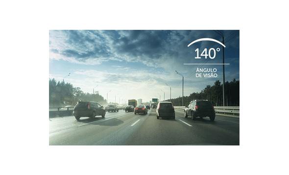 Câmera Veicular Intelbras Full HD DC 3101 140º 1080p com Microfone com Amplo ângulo de visão
