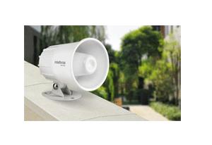 Aparência sempre nova com a Sirene Intelbras com Fio SIR 2000 9 a 15 VDC/115 dB