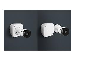 Aplicação perfeita com uma câmera com o Caixa de passagem para CFTV VBOX 1100 Intelbras