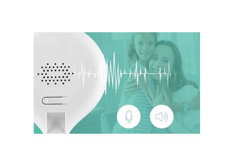 Áudio bidirecional ouça e fale com a Câmera Intelbras WiFi Full HD iM3 1080P, IR 10m, 2.8mm
