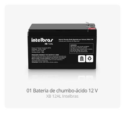 Bateria p/ Centrais de Alarme Intelbras
