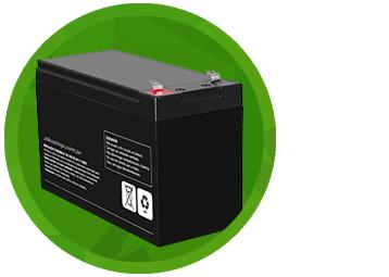 Bateria Para Centrais 12V-7.0Ah/20h