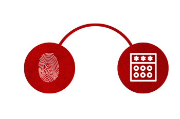 Duas opções de acesso da iDFit da Control ID