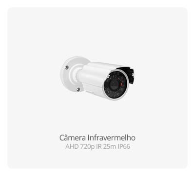 Câmeras Infravermelho AHD 720p IR 25m IP66