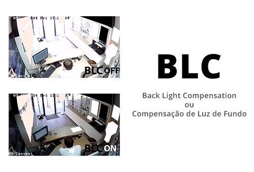 Imagem com qualidade Mesmo com muita claridade com a Câmera Hikvision Full HD DS-2CE71D0T-PIRL IR 20m 1080p