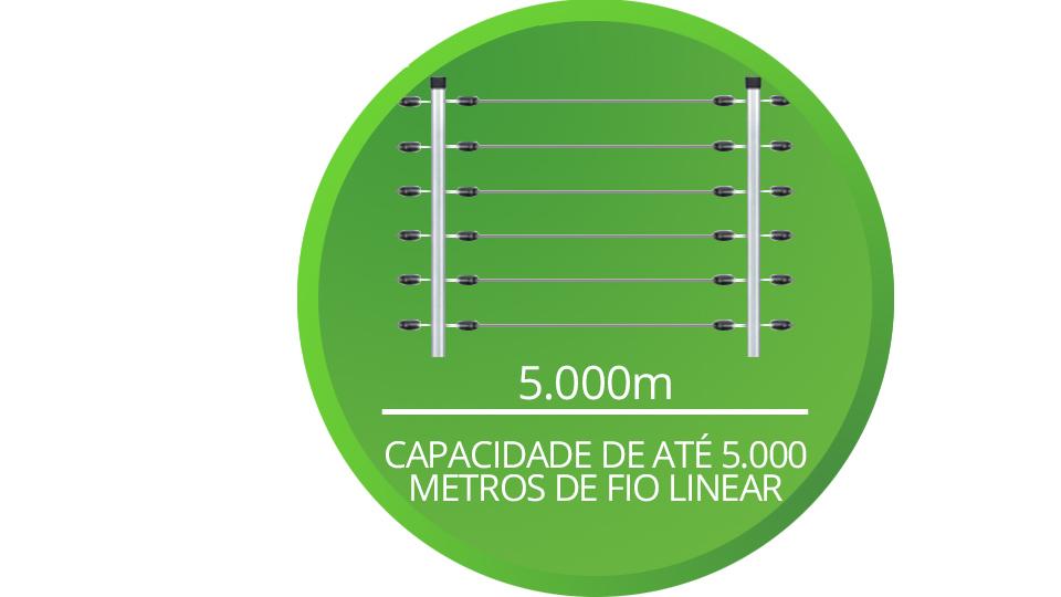 ELC 5002 Intelbras com capacidade de até 5.000 metros