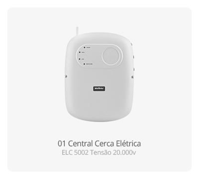 Central Cerca Elétrica ELC 5002 Intelbras