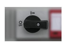 Chave seccionadora certificada e confiável com o Protetor Elétrico Intelbras Stringbox 600V 1 Entrada 1 Saída ESB 1106