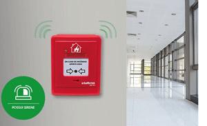 Comodidade e segurança com acionamento por sirene