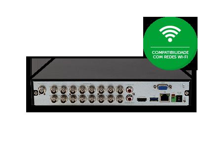 Compatibilidade com redes Wi-Fi e Multi-box da MHDX 3116 Intelbras