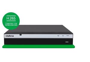 Compatível com a tecnologia H.265 NVR Intelbras Ultra HD NVD 3208 P 8 Canais IP 4K