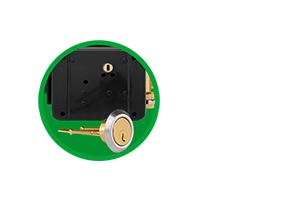 Compatível com portas de diferentes espessuras da Fechadura elétrica de cilindro ajustável Intelbras FX 2000 AJ Cinza