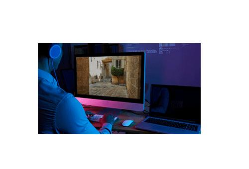 Monitore suas imagens posteriormente com o HD (Disco Rígido)